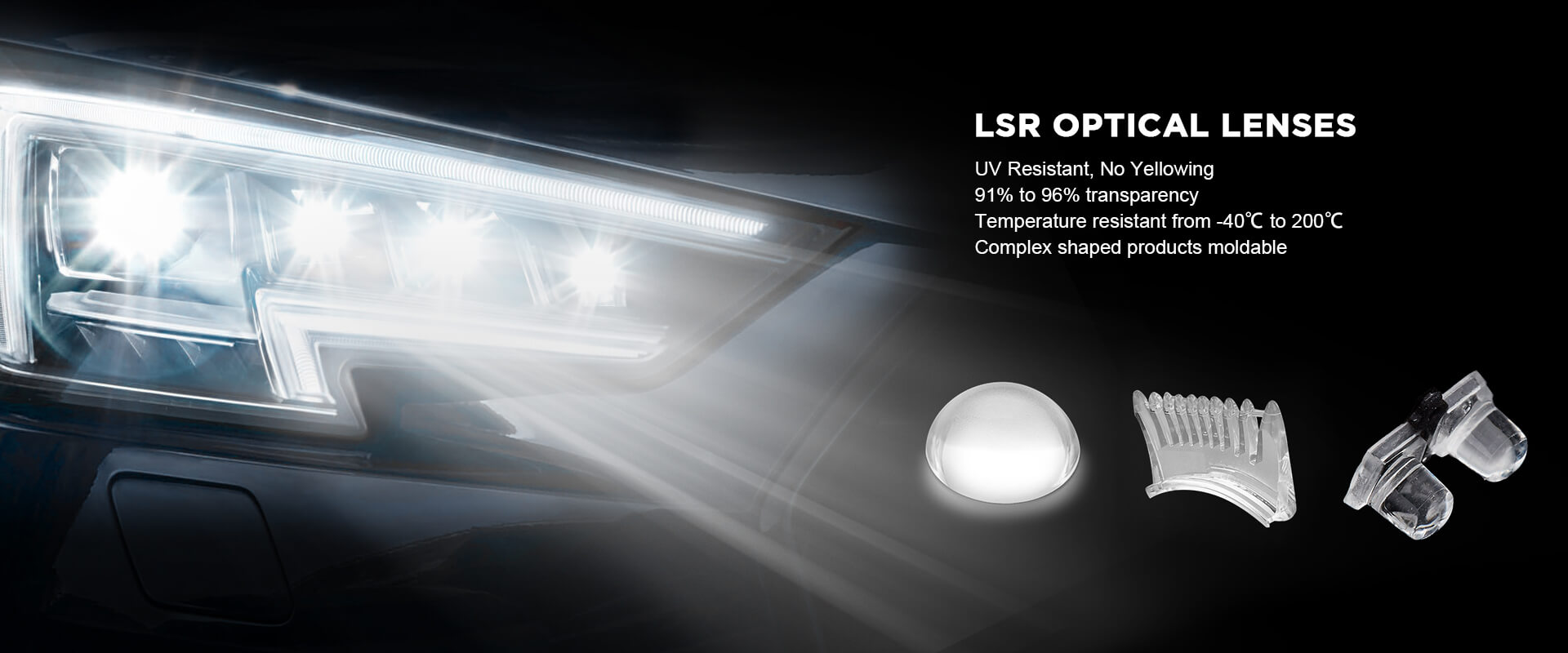 Optical Silicone Lens