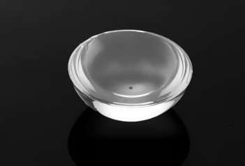 What kind of material does the LED lens use for better effect?cid=4