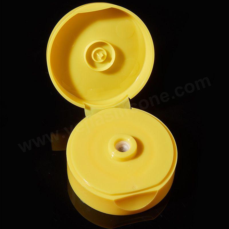 flip top cap with valve