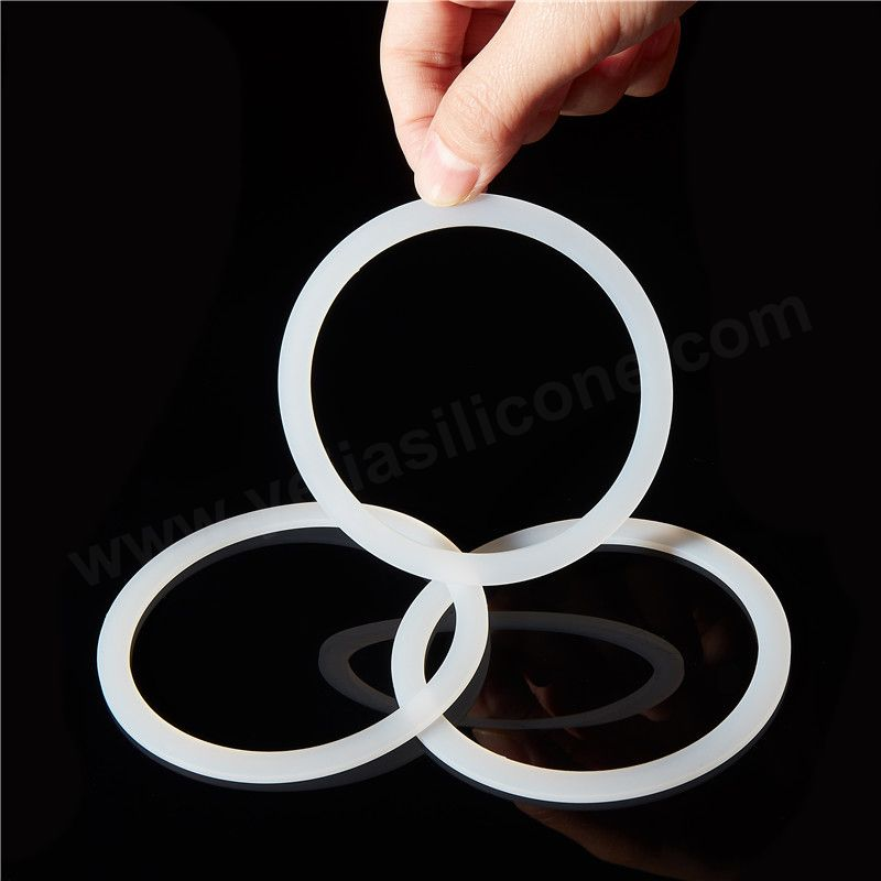 FDA Clear Silicone Rubber Sealing Ring for Mason Glass Jar