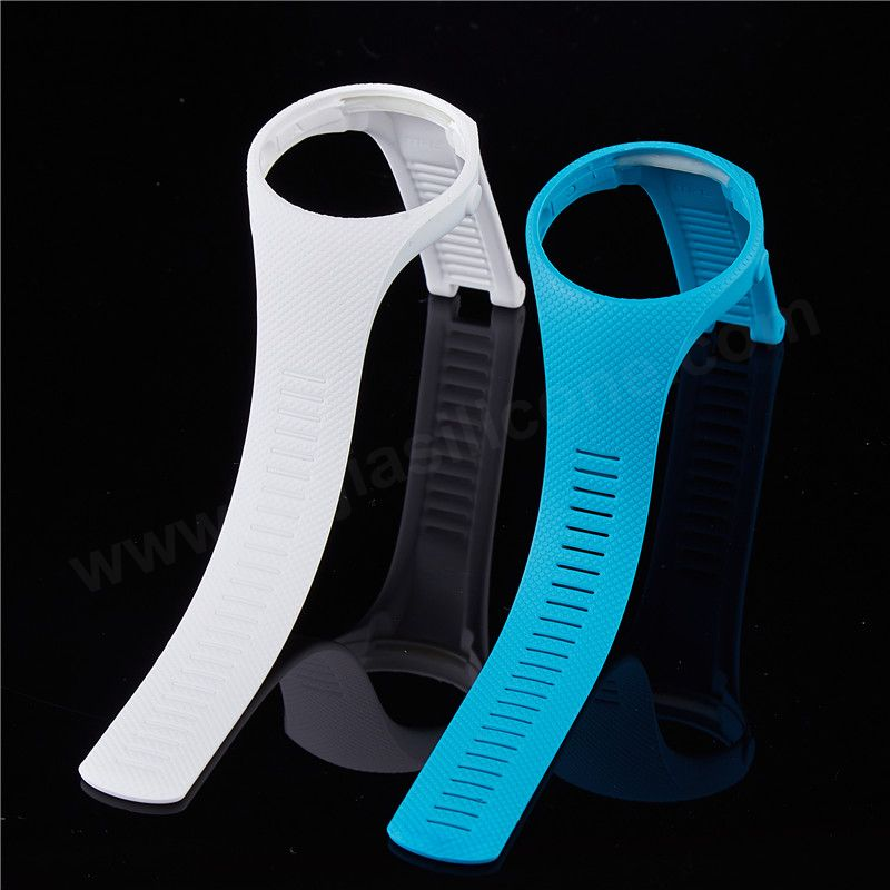 Compression Overmolding Silicone Watch Band for Smart Watch