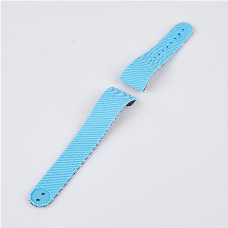 2 shot moulding silicone wristband