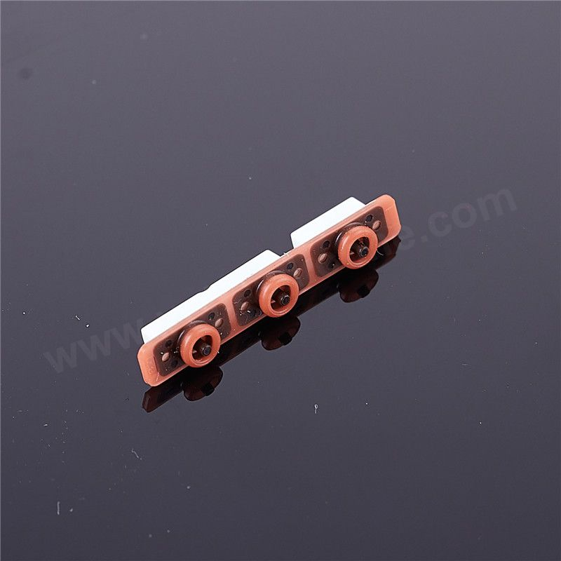 LSR Over-molding Wateproof Mobile Phone Volume Button