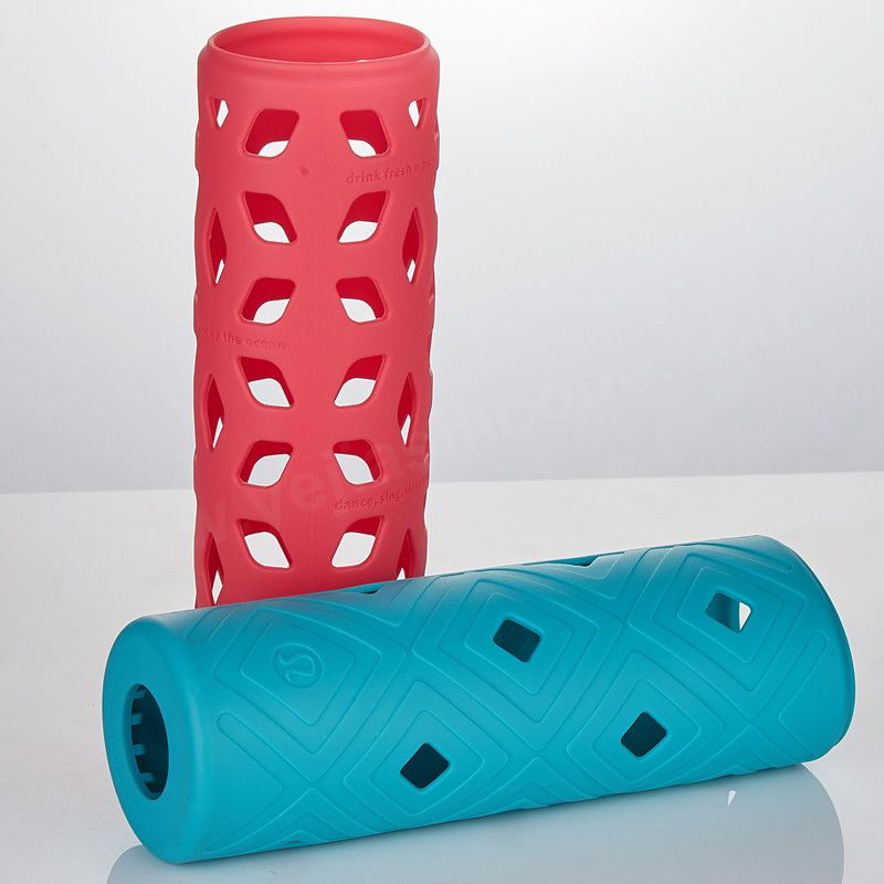 BPA Free Anti-slip Silicone Sleeve Cover for Water Bottle