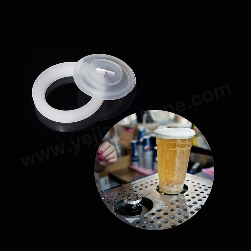 Bottom Beer Filling Cups No Leak Silicone Slit Valves