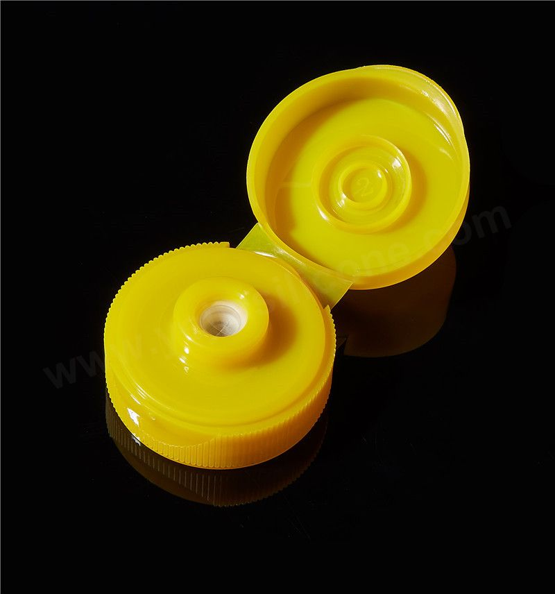 33-400 food grade plastic snap cap with silicone valve