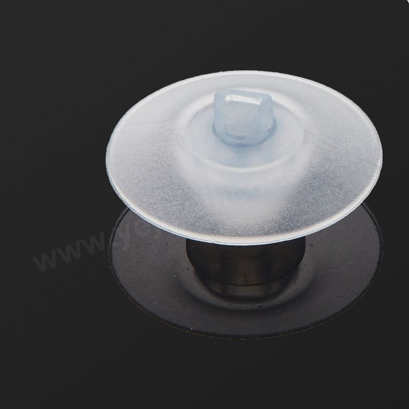 Customized compression moulding bi directional valve silicone