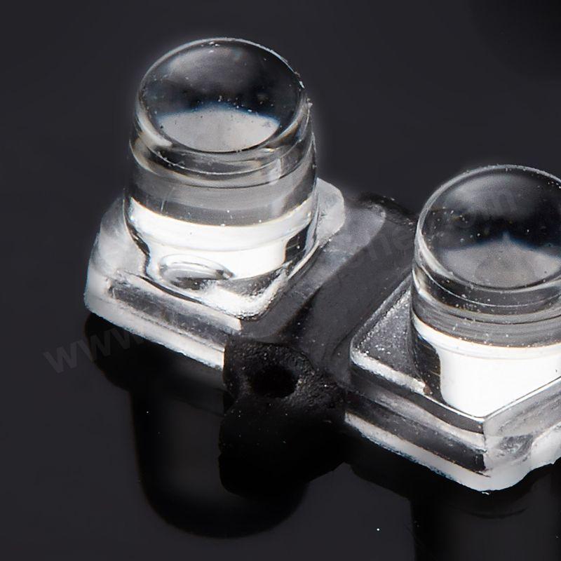 Custom made Optical LSR Overmolding Lenses
