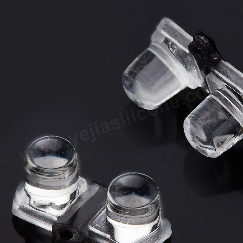 silicone overmolding lenses